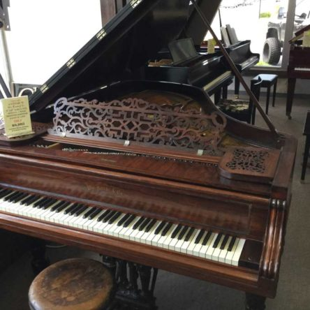 "Circa 1885 Antique Knabe Grand Piano 5'10"" Brazilian Rosewood"