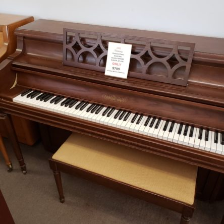 1981 Chickering Console Piano